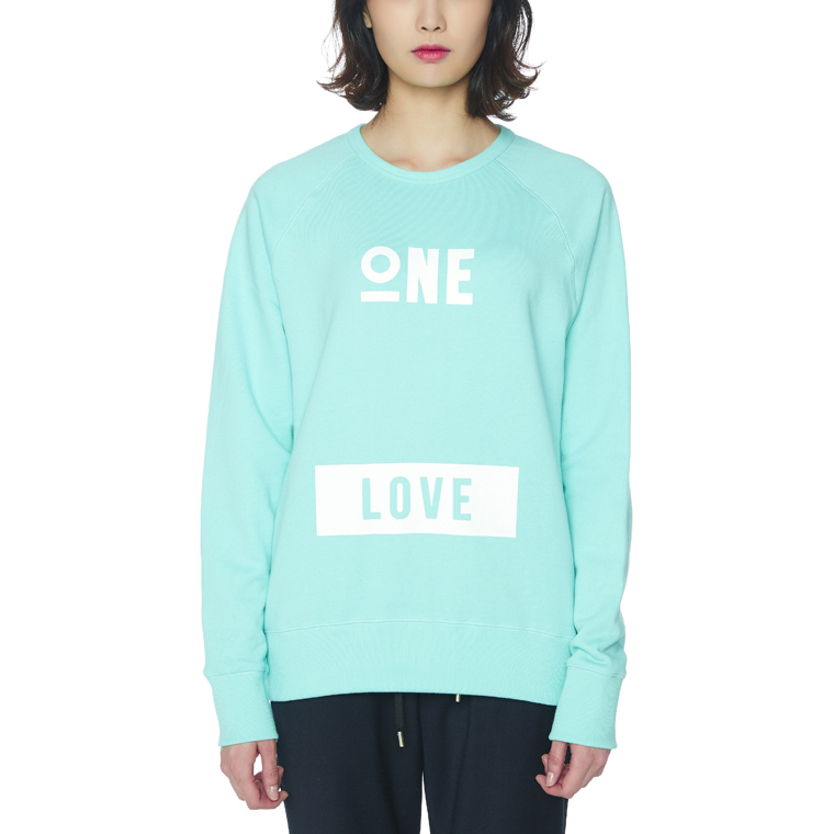 ONE LOVE SWEATSHIRTS [MINT]