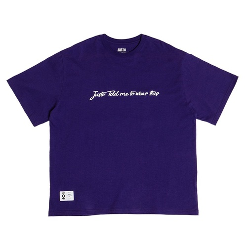 SIGNATURE OVER T-SHIRTS[PURPLE]
