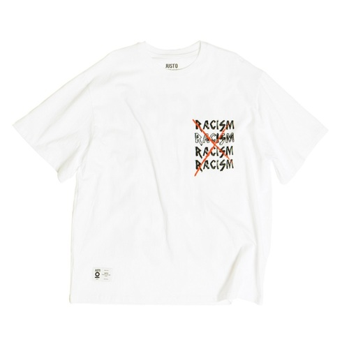 ANTIRACISM OVER T-SHIRTS[WHITE]