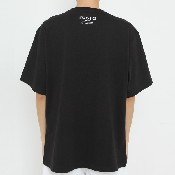 WANTED OVER T-SHIRTS[BLACK]