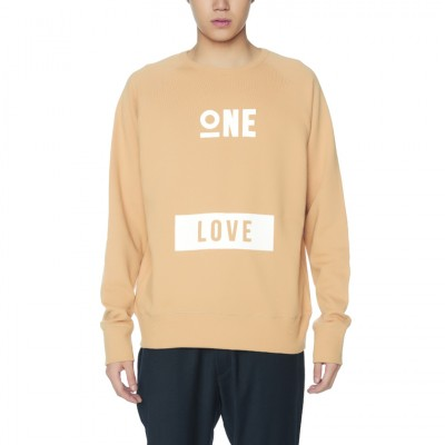 ONE LOVE SWEATSHIRTS [BEIGE]