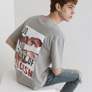 ANTIRACISM T-SHIRTS[GRAY]