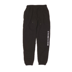 ANTIRACISM SWEATPANTS[BLACK]