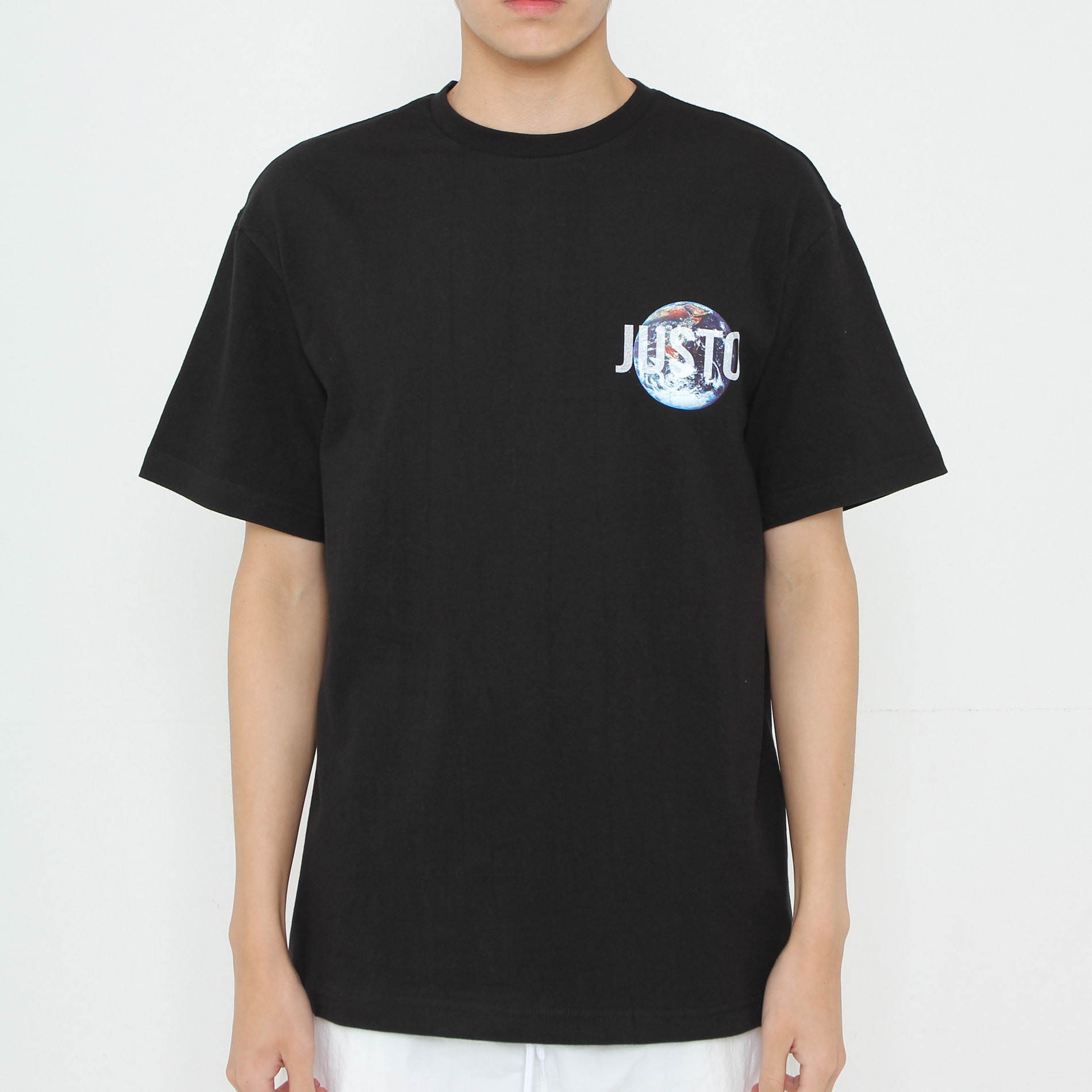 SAVE THE EARTH T-SHIRTS[BLACK]