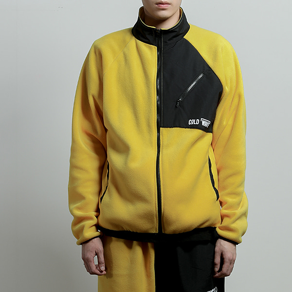 JUSTO fleece jacket[yellow]